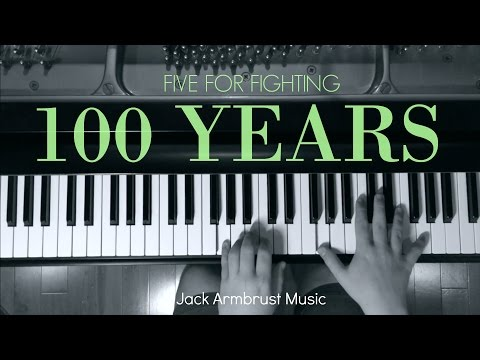 Five for Fighting  100 Years Piano