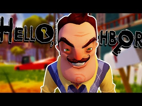 Hello Neighbor  Game Gameplay Walkthrough  WE GET CAPTURED?  Lets Play PC 1