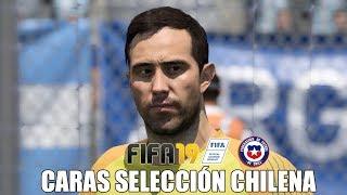 CARAS/FACES SELECCIÓN CHILENA EN FIFA 19