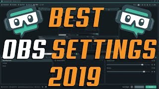 BEST Streamlabs OBS Streaming Settings / Low End PC / Gaming Laptop (NVENC) 2019!