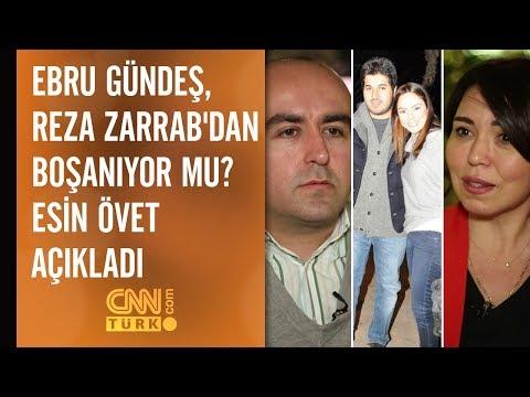 Ebru Gündeş, Reza Zarrab'dan boşanıyor mu? Esin Övet açıkladı