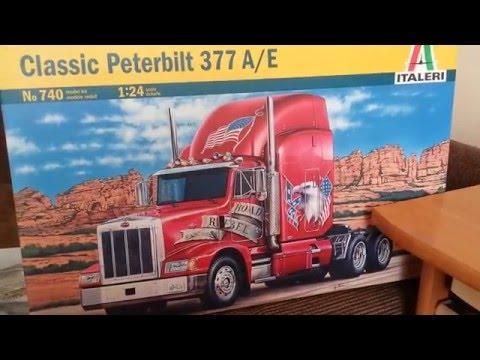 Modelarstwo Plastikowe Peterbilt377 A /E Part.2