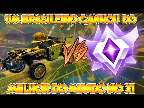 ROCKET LEAGUE: UM BR GANHOU DO MELHOR DO MUNDO NO X1 ???