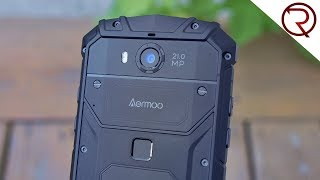 IP68, NFC, Wireless Charging - Aermoo M1 Rugged Phone Review