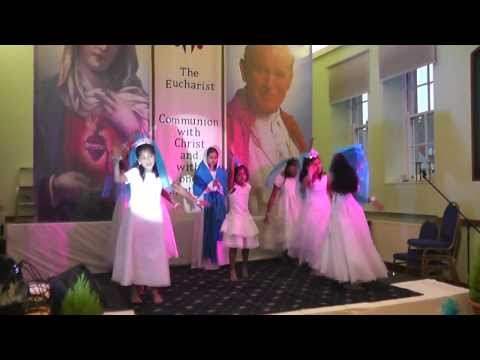 Malayalam Christian Devotional Kids Dance Prayer Dance For Catechism Anniversary video