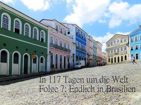 In 117 Tagen um die Welt - Brasilien, wir haben es endlich geschafft - AIDA Weltreise 2018/19