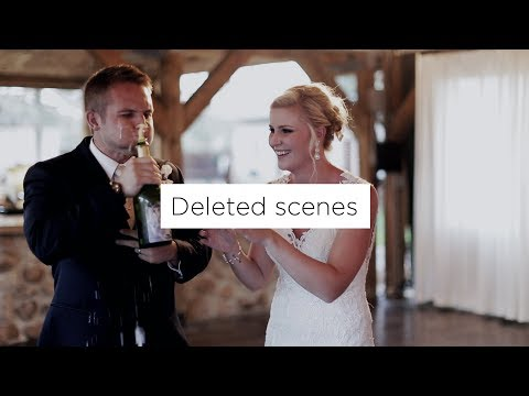 Deleted Scenes + Bloopers from Jen & Ryan's Saratoga Wyoming Wedding