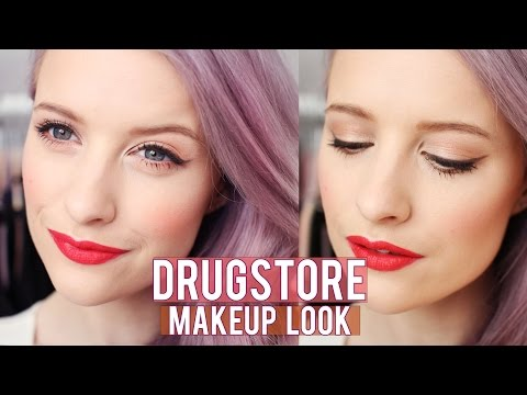Chatty Drugstore Makeup Look | Inthefrow