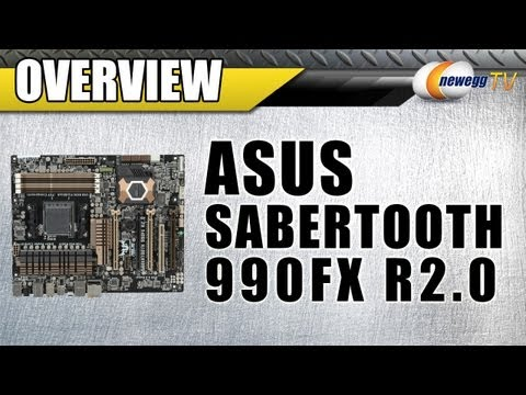 Newegg TV: ASUS SABERTOOTH 990FX R2.0 AM3+ Motherboard Overview