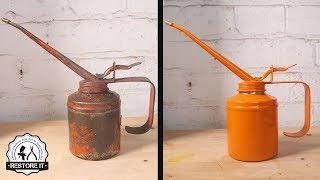 Wesco Oil Can Oiler Restoration