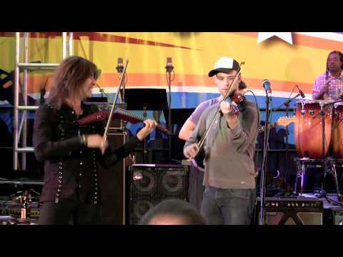 Devil Went Down To Georgia - Band From TV with Jesse Spencer & Mark Wood (NAMM 2011)