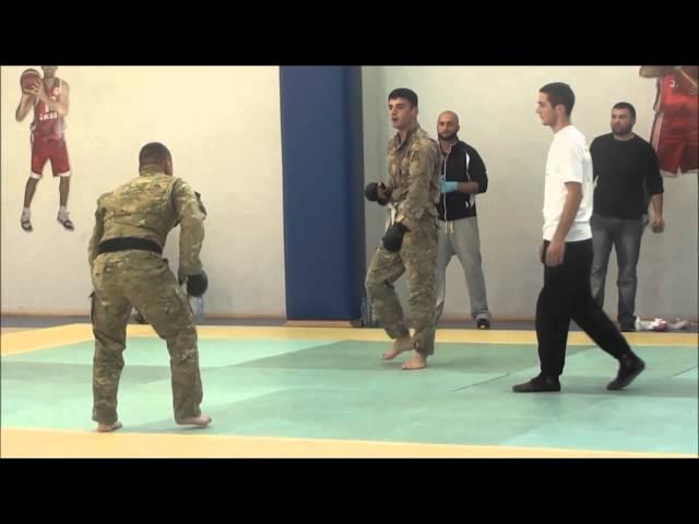 Georgian armed forces Khridoli championship 2013.G.Makharashvili vs T.Janashia 80kg.1/4 finale.