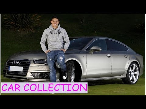 James rodriguez car collection (2017)