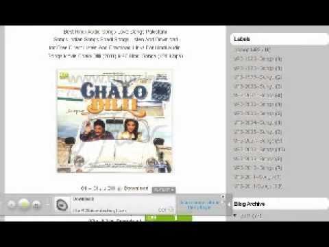 Hindi Audio Songs Jhoom -- Ali Zafar (2011)