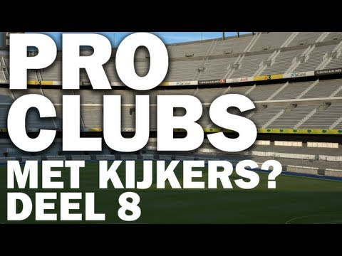 FUT13 Pro Clubs Seasons! Online met jou?  (PC Livestream) #8
