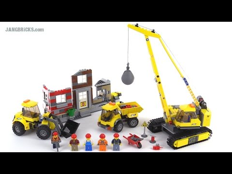 LEGO City Demolition Site review! set 60076