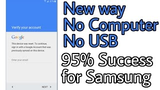 How To Bypass Google Verification Step In Samsung Galaxy J2
