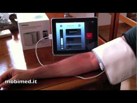 Mobimed.it - Withings Blood Pressure Monitor Unpacking and Review