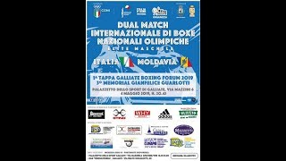 DUAL MATCH ELITE MASCHILE - ITALIA VS MOLDAVIA - GALLIATE