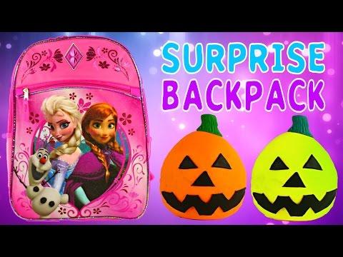 FROZEN SURPRISE BACKPACK - Barbie Monster High Lego Zelfs Princess...