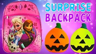 FROZEN SURPRISE BACKPACK - Barbie Monster High Lego Zelfs Princess Play Doh Egg MLP