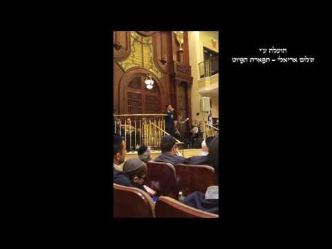 בעיר קודשך - בעיד ענק החזן עימנואל שלום עם הרשל''צ ר' משה שלמה עמאר שליט''א תשע''ז