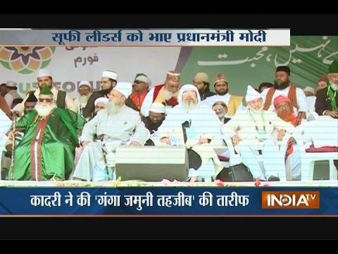 PM Narendra Modi Stresses on Development Agenda at BJP Meet