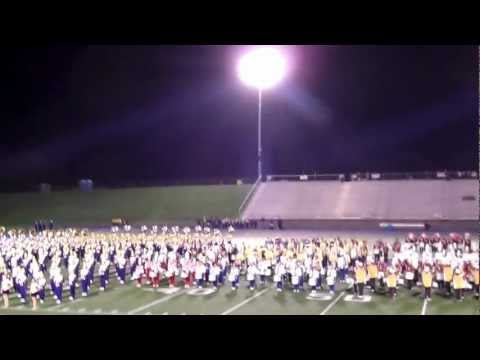 Jackson High School Marching Band - Massillon, OH  9/11 Tribute