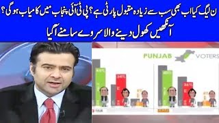 Latest Survey For Election 2018 - On The Front with Kamran Shahid - Dunya News
