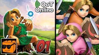 """Zelda: Ocarina of Time Online - Del 1: """"Du går inn i cutscenen min!"""""""