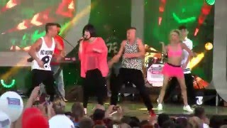 Shazza & Michał Gielniak - Disco Hit Festival Kobylnica 2015 - Kwakowo 3.07.2015