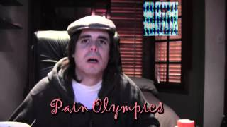 Dross mira Glass Ass y Pain Olympics