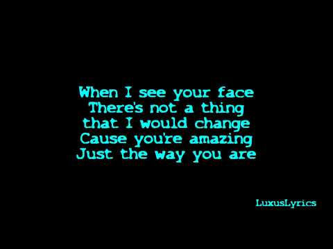 Bruno Mars - Just The Way You Are Lyrics [hd] video