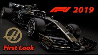 F1 2019 Haas Launch - First Look