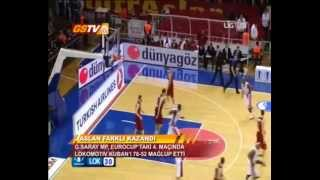 EUROCUP 4.HAFTA | Galatasaray Medical Park 76-52 Lokomotiv Kuban