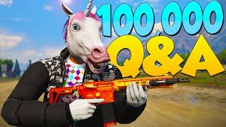 Exzd's 100,000 Subscriber Q&A - Family Friendly & Voice Changer! (GTA 5)