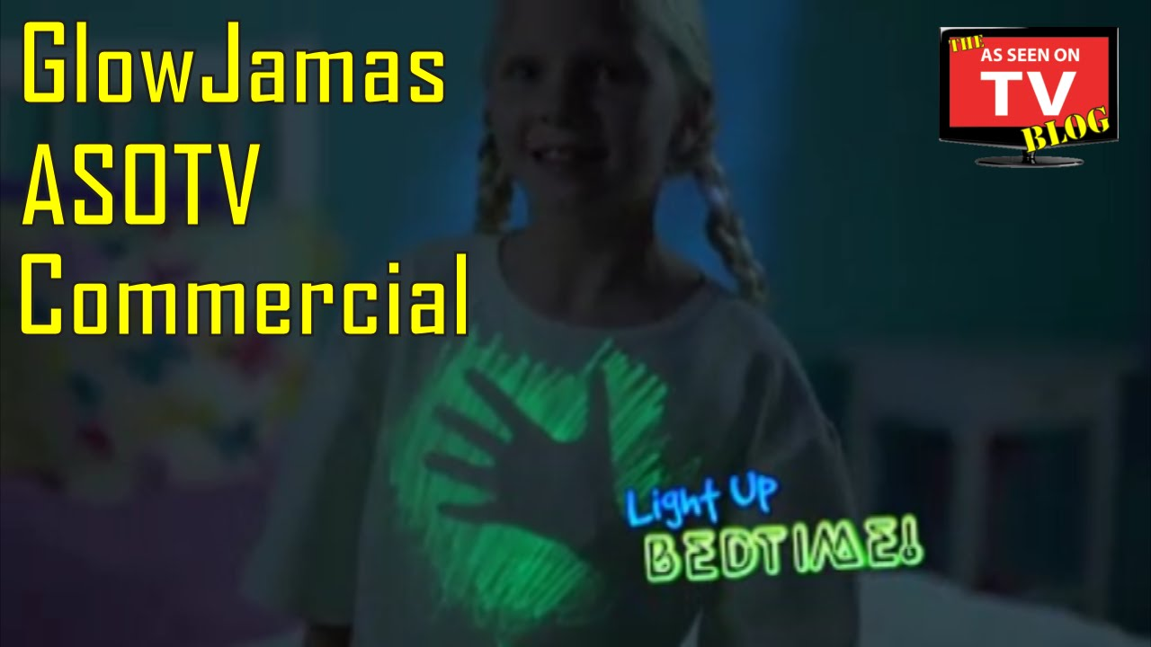 glowjamas as seen on tv commercial buy glowjamas as seen on tv glow in the dark pen pajama. Black Bedroom Furniture Sets. Home Design Ideas