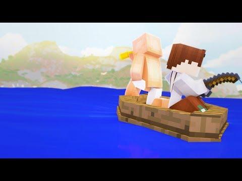 Нубы нашли Новый Мир — Тайный Остров Нубов — Майнкрафт Сериал #1