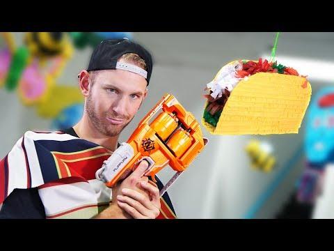 NERF Piñata Challenge!
