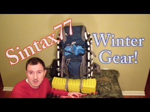 Winter Backpacking Gear List for 15 Degrees - Snow Camping and Clothing Options