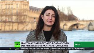 Italy's intention to back China's 'Silk Road' is a 'message to maximize EU interests'