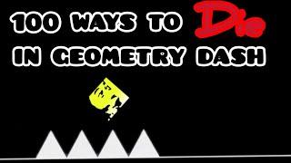 100 ways to DIE in Geometry Dash