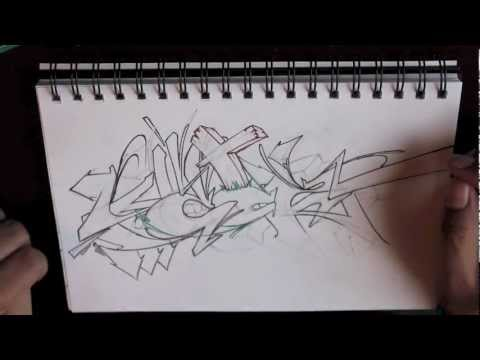 NEW GRAFFITI SKETCH -