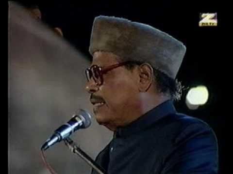 Manna Dey ( Live)  On Millennium Stage Laga  Chunri Mein Daag video