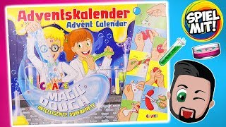 INTELLIGENTE SUPERKNETE Adventskalender Craze 2018 - Kaan öffnet alle 24 Türchen vom Magic Dough
