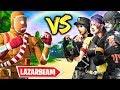 LAZARBEAM ARMY Vs TTV BTW ARMY  |  SKIN WARS 4