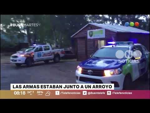 Encuentran un arsenal vinculado a la UOCRA de Bahía Blanca - Buen Telefe