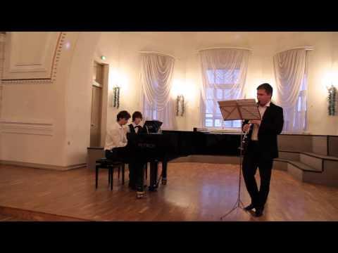 Вебер. Вариации для кларнта и фортепиано. Исп. Егор Чащихин и Жуков Матвей