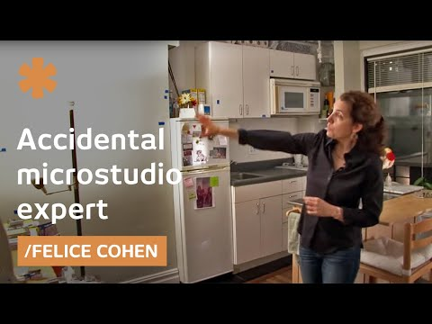 Remember the microstudio viral video? See Felice Cohen's new home