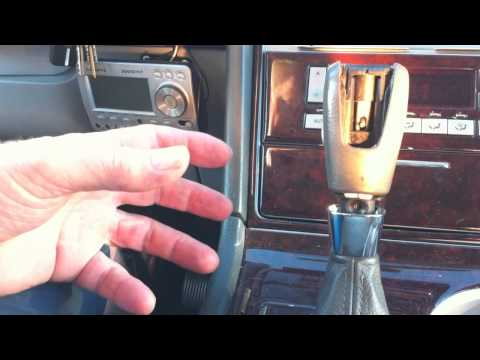 2004 + Lincoln Navigator / Aviator Shifter is Stuck - Won't move from Park or move